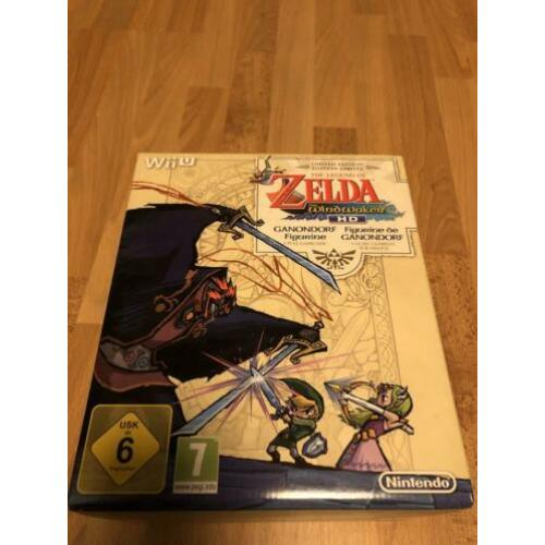 Zelda Wind Waker Limited Edition Geen Game Nintendo Wii U