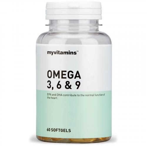 Myvitamins Omega 3, 6 9 (60 Softgels) Myvitamins
