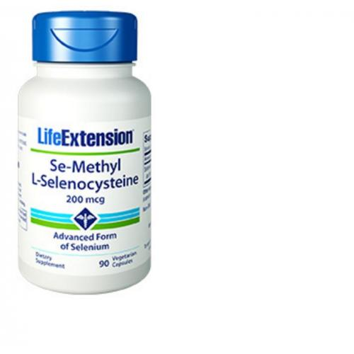 Life Extension Se Methyl L Selenocysteine 200 mcg 90 vegetarian capsules Life Extension